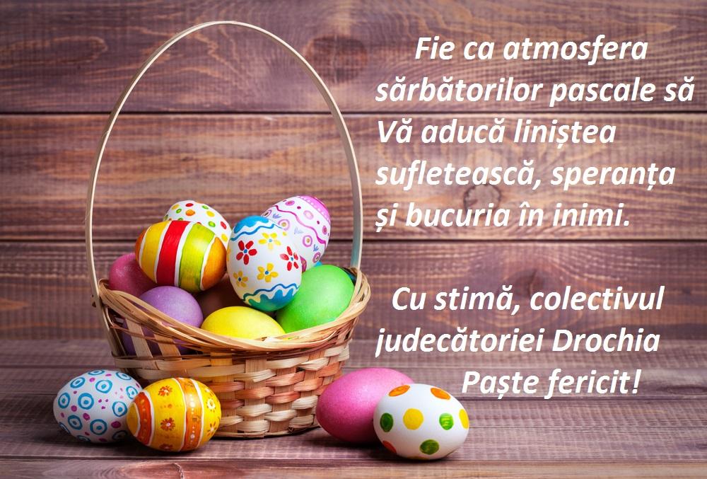 Felicitare de Paște